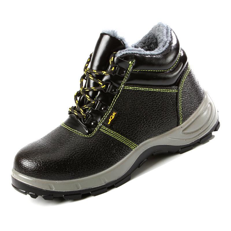 Currently Available Wholesale Winter Safety Shoes Cotton Safe Protective Shoes Anti-smashing And Anti-penetration High-temperatu