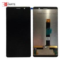 """6.0 """"Nokia 7 Plus için LCD 7 artı ekran dokunmatik ekranlı sayısallaştırıcı grup LCD değiştirme TA 1062 LCD ücretsiz kargo"""