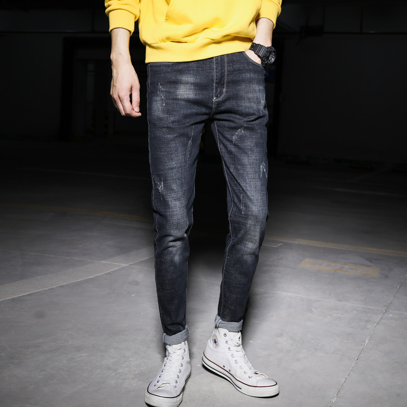 Autumn And Winter New Style Jeans Night View Garage Popular Brand Style G309
