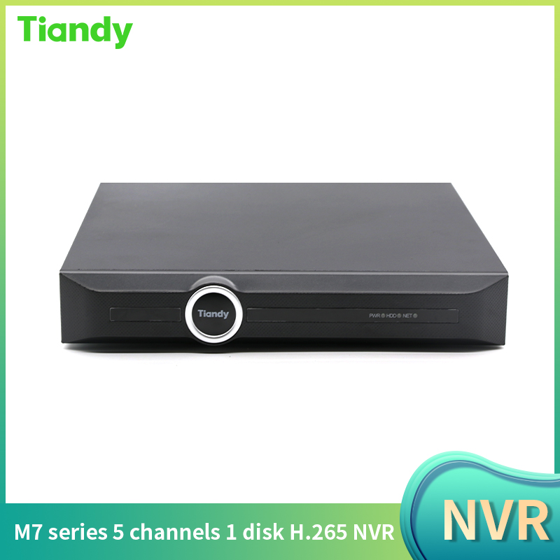 TC-R1105 H.265 Max 5MP 5CH AHD 1080P Nvr for IP Camera CCTV Monitor Network Video Recorder