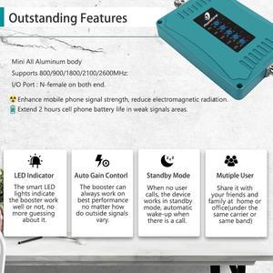 Image 3 - 800/900/1800/2100/2600/MHz 2G 3G 4G GSM مكرر شبكة المحمول الداعم هاتف محمول مكرر 4G LTE مكبر للصوت إشارة الداعم مجموعة