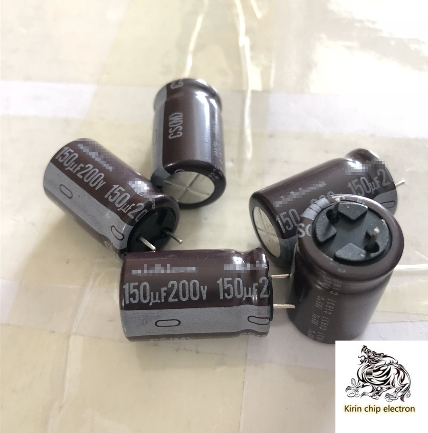 15PCS/LOT Direct Electrolytic Capacitor 200V150UF Capacitor 150UF 200V 16X25 High Frequency Low Resistance 105 Degrees