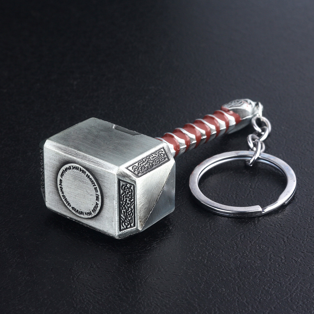 Cheap Keychains Thor Hammer Avengers 4 Jewelry Accessories 14