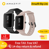 In Stock Global Version Amazfit Bip Lite Smart Watch 45 Day Battery Life 3ATM Water resistance Smartwatch For Xiaomi New