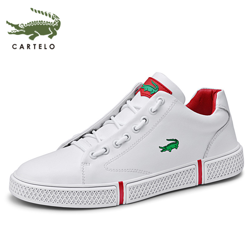 CARTELO Little White Shoes Men's Casual Wild Men's Shoes New Sports Shoes Men's Trend