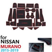 Противоскользящие резиновые чашки подушки Салонные подложки для Nissan Murano Z52~ 20 шт аксессуары чехлы сидений автомобиля коврик для телефона