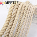 5/10 м экологичный прочный шнур из натурального хлопка высокая прочность витая веревка сумка Декор DIY домашний текстиль аксессуары KY338