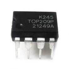 10pcs/lot TOP209P TOP209PN LCD management chip DIP8 In Stock
