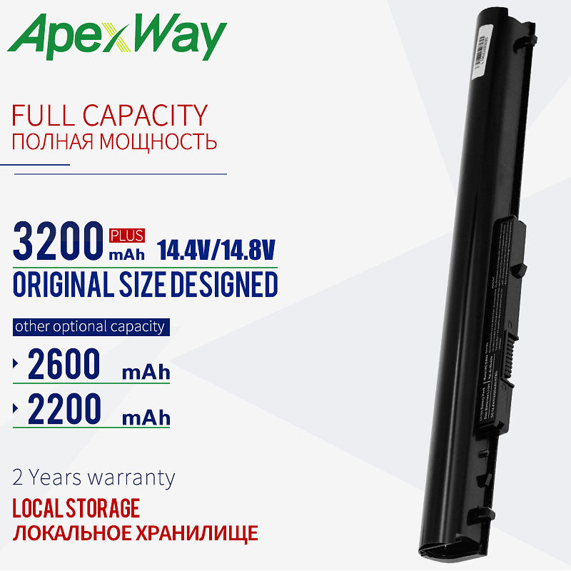 14.8V Laptop Battery OA04 OA03 For HP 240 G2 CQ14 CQ15 Compaq Presario 15-h000 15-S000 HSTNN-LB5Y HSTNN-LB5S HSTNN-PB5Y 3200mAh