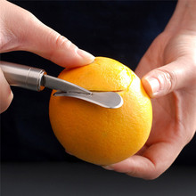1pc Orange Fruit Peeler Stainless Steel Tomato Fruit Peeling Tool Kitchen Peeler l Tomato Fruit Peeling Tool Kitchen Accessories aphids and tomato fruit borer