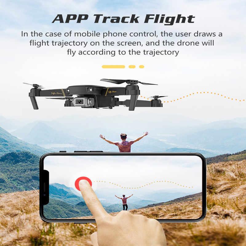 ZWN Z20 RC Drone com FPV WI-FI 480P 1080P 4K HD Dual Camera Quadcopter Opitcal Fluxo Gesto controle Mini Drone VS SG106 E58 Dron