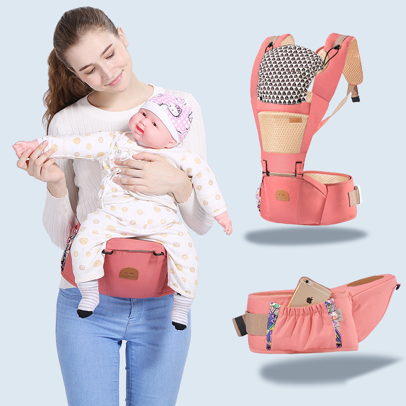 MissAbigale Baby Carrier Ergonomic Carrier Backpack Hipseat For Newborn And Prevent O-type Legs Sling Baby Kangaroos