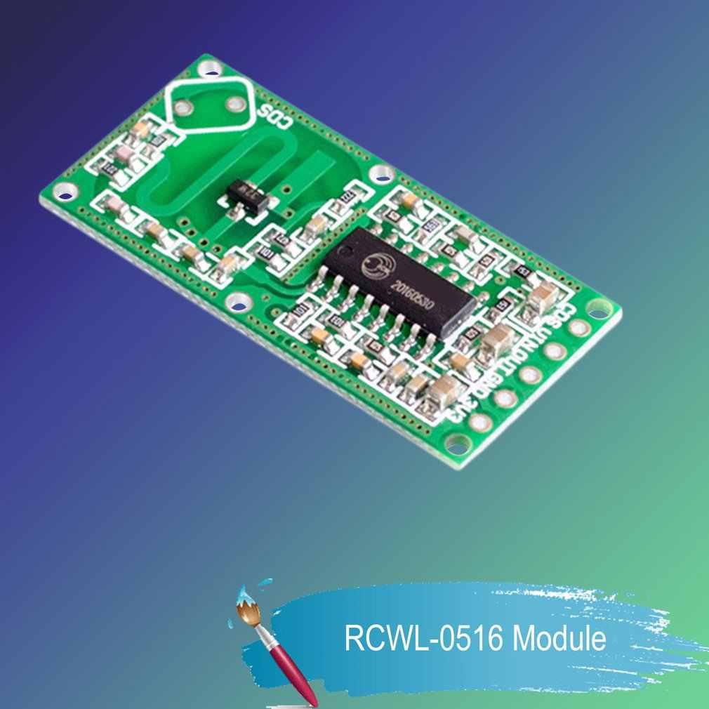 RCWL-0516 Doppler Radar Sensor Motion Detector ไมโครเวฟโมดูลสำหรับ Arduino Body Induction สวิทช์การตรวจจับอัจฉริยะ
