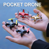 Mini RC Drone HD Camera WiFi FPV UAV Aerial Photography Helicopter Foldable LED Light Quadcopter Remote Control Dron