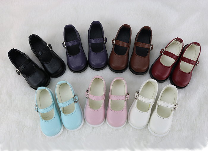 2020 New Fashion Style One Pair Pu Leather Shoes For 1/61/4 1/3  For Bjd Sd Dolls Accessories Shoes