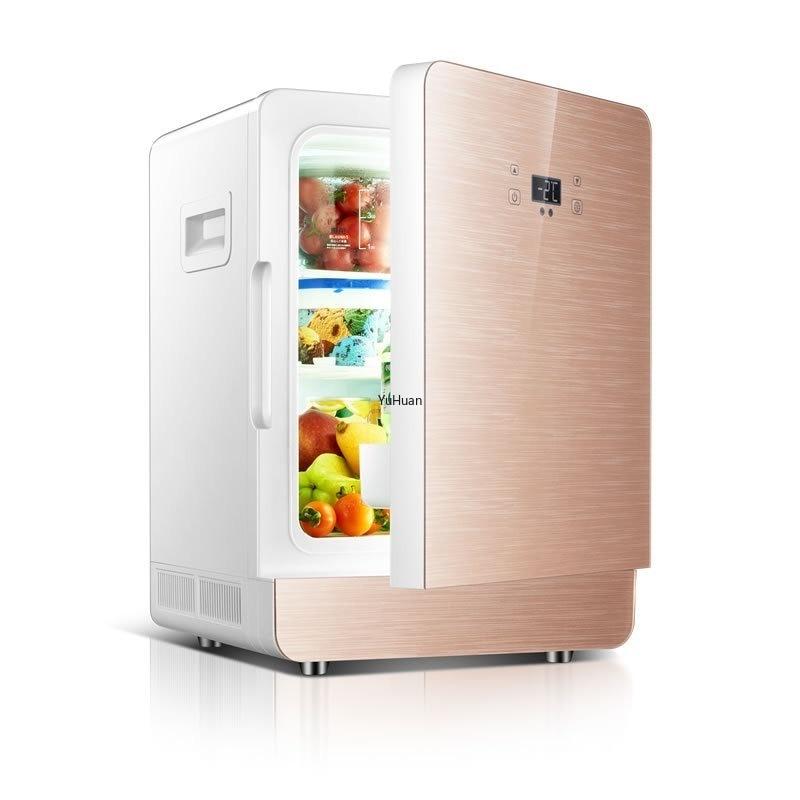 20L CNC Car Refrigerator Mini  Refrigerator Car Home Dual Purpose Refrigeration Mini Fridges  Car Fridge  Mini Refrigerator