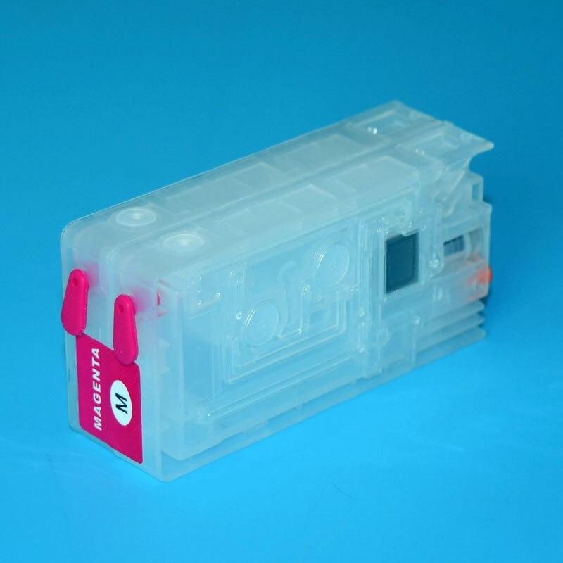 4 Color Refillable Ink Cartridge For Epson TM-C3500 TM-C3510 TM-C3520 For Epson GJiC22P Label Printer