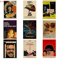 Серия кинорежиссеров Kubrick/заводной оранжевый/2001 космический роуминговый/кинопостер, плакат из крафт-бумаги, Ретро плакат