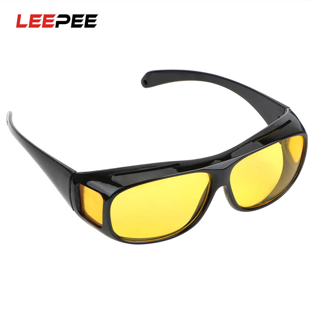 LEEPEE Unisex HD Vision Sun Glasses Night Vision Goggles UV Protection Polarized Sunglasses Car Driving Glasses Dropshipping
