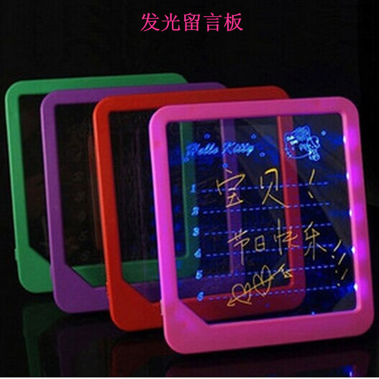 Shining Message Board Handwritten Fluorescent Screen LED Electronic Shining Board Handwritten Doing Homework Drawing Board Billb