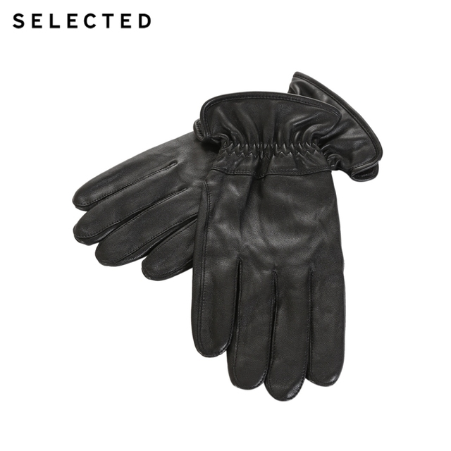 Seçilen erkek pelerin eldivenleri bir