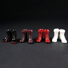 1/6 AS012-015 Female Scale Action Figure Model Accessories Witch Women's Shoes Women's Boots Solid Shoes in Stock(China)