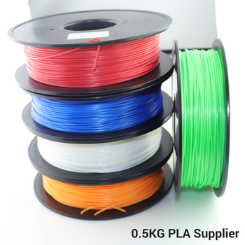 Low Price Only Three Days 3D Printer Filament Multicolor PLA 1.75mm 500g PLA Filament 3D Printing Supplies Materials