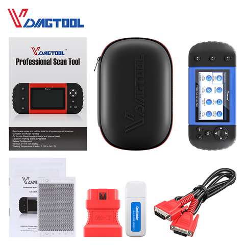VT600 OBD2 Automotive Scanner Tool Engine ABS SRS EPB Oil Service Reset Injector Coding OBDII Key Programmer For Car Diagnostic Islamabad