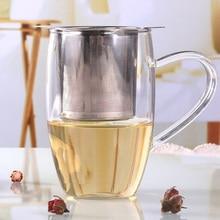 1pcs Tea Infusore In Acciaio Inox Colino Da Tè In Metallo Sacchetto Filtro Herb Spice Filtro Diffusore Maniglia Sfera di Tè Squalo Cigno A forma di