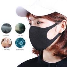 3pcs 12pcs אנטי אבק מסכת PM2.5 פה כיסוי לשימוש חוזר לנשימה Dustproof פנים מופל עבור גברים נשים מבוגרים ילד ילדים הנשמה