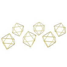 6 шт подвесной держатель для растений мини металлический Настольный