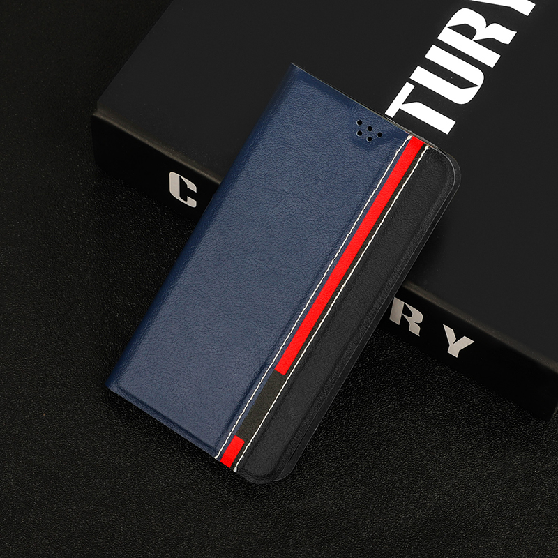 Luxury Book Stand Leather For <font><b>Lenovo</b></font> <font><b>K5</b></font> <font><b>Pro</b></font> <font><b>L38041</b></font> Case Phone Back Cover with Card Slots Wallet Holder For <font><b>Lenovo</b></font> <font><b>K5</b></font> K350t 2018 image