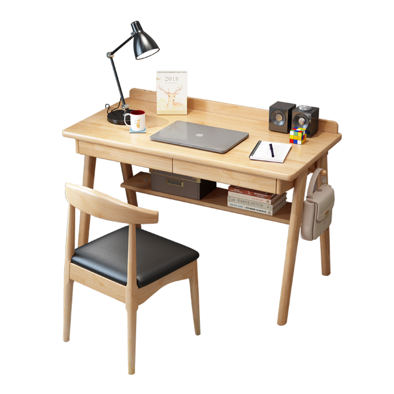 M8 Simple Solid Wood Desk Household Desktop Study Student Learns To Write Table Bedroom