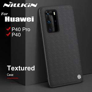 Image 1 - Case for Huawei P40 P40 Pro Case NILLKIN Textured Hard PC Soft TPU Luxury Non Slip Full Cover Phone Cases for Huawei P40 Pro Bag