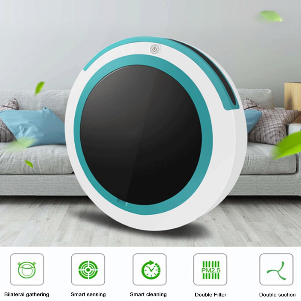 New Smart Robot Vacuum Cleaner , Mopping Sweeping Sunction Cordless Auto Dust Sweeper Machine Dry Wet Floor Robot Vacuum Cleaner