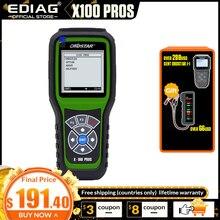 Obdstar X 100 プロ自動キープログラマーeepromアダプタimmo + 走行距離 + obd + eeprom x100 プロよりもdigiprog 3