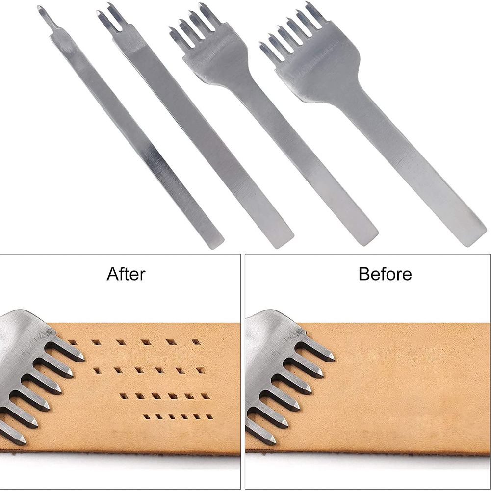 11 шт нитки для шитья кожи инструменты diy резьба Рабочая шить