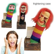 цена на Halloween Prank Toys Fake Wood Surprise Fear Joke Horror Funny   Drop Creative April Fool's Day Whole Person Gift Tidy Toy