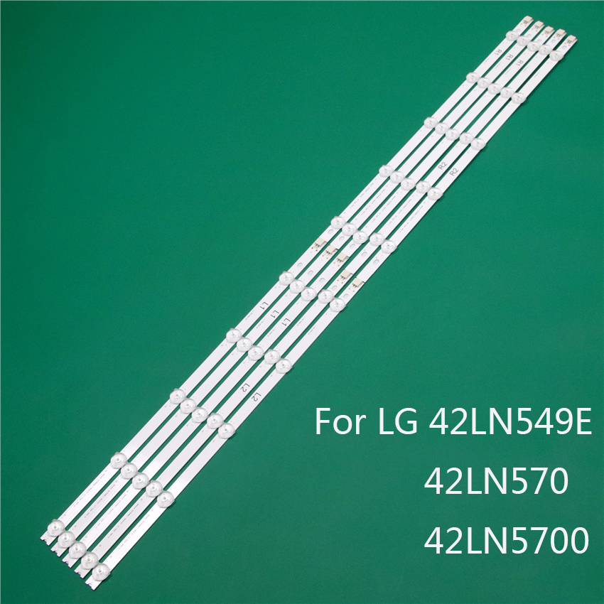 LED TV Illumination Part For LG 42LN549E 42LN570 42LN5700 LED Bars Backlight Strips Line Ruler 42