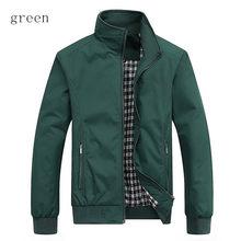 Men's jacket men's high quality new casual fashion jacket solid color coat regular jacket brand coat male large size M-5XL