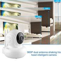 960P Wireless Wifi Network Security HD Head Shaking Smart Camera With Dual Antenna Home Indoor Alert Surveillance Device