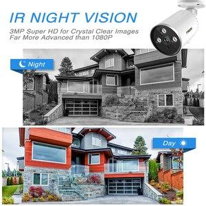Image 3 - YCC365 1536P Camera WiFi 3.0MP Waterproof Bullet IP Camera Outdoor Security Cameras Wireless Infrared Night Vision CCTV Camera