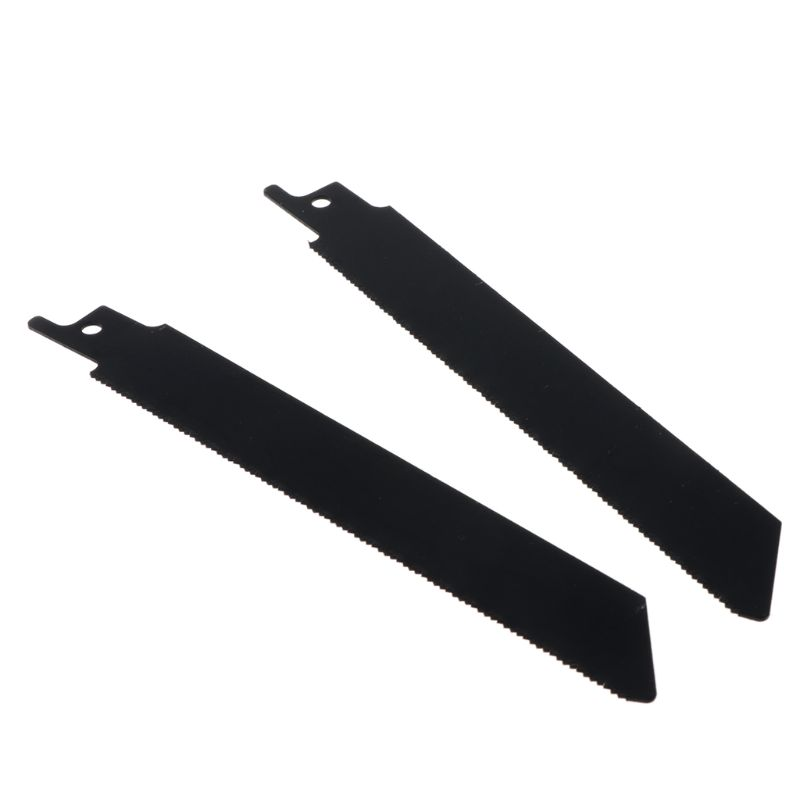 2PCS/SET Black Reciprocating Sabre Saw Blades For Cutting Metal Professional S922EF Accessory Kit Tool 40JE
