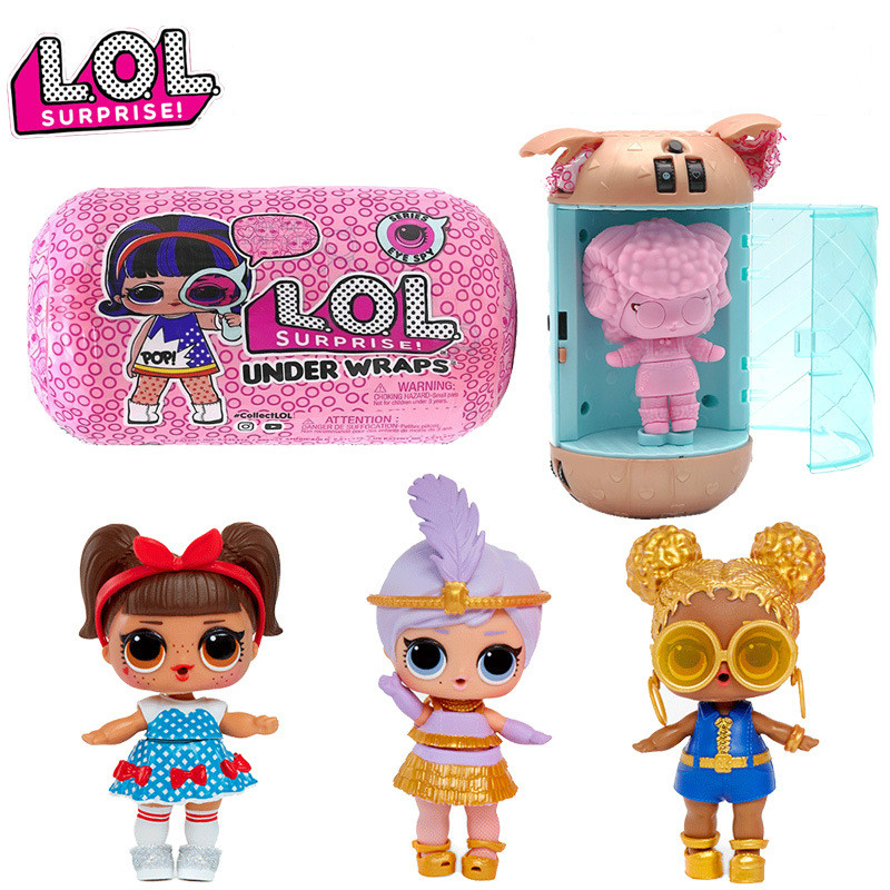 L.O.L.SURPRISE! Lol Dolls Surprise Beautiful Hair Doll 5 Generation DIY Manual Blind Box Fashion Model Doll Toy Gift  Girl Toys