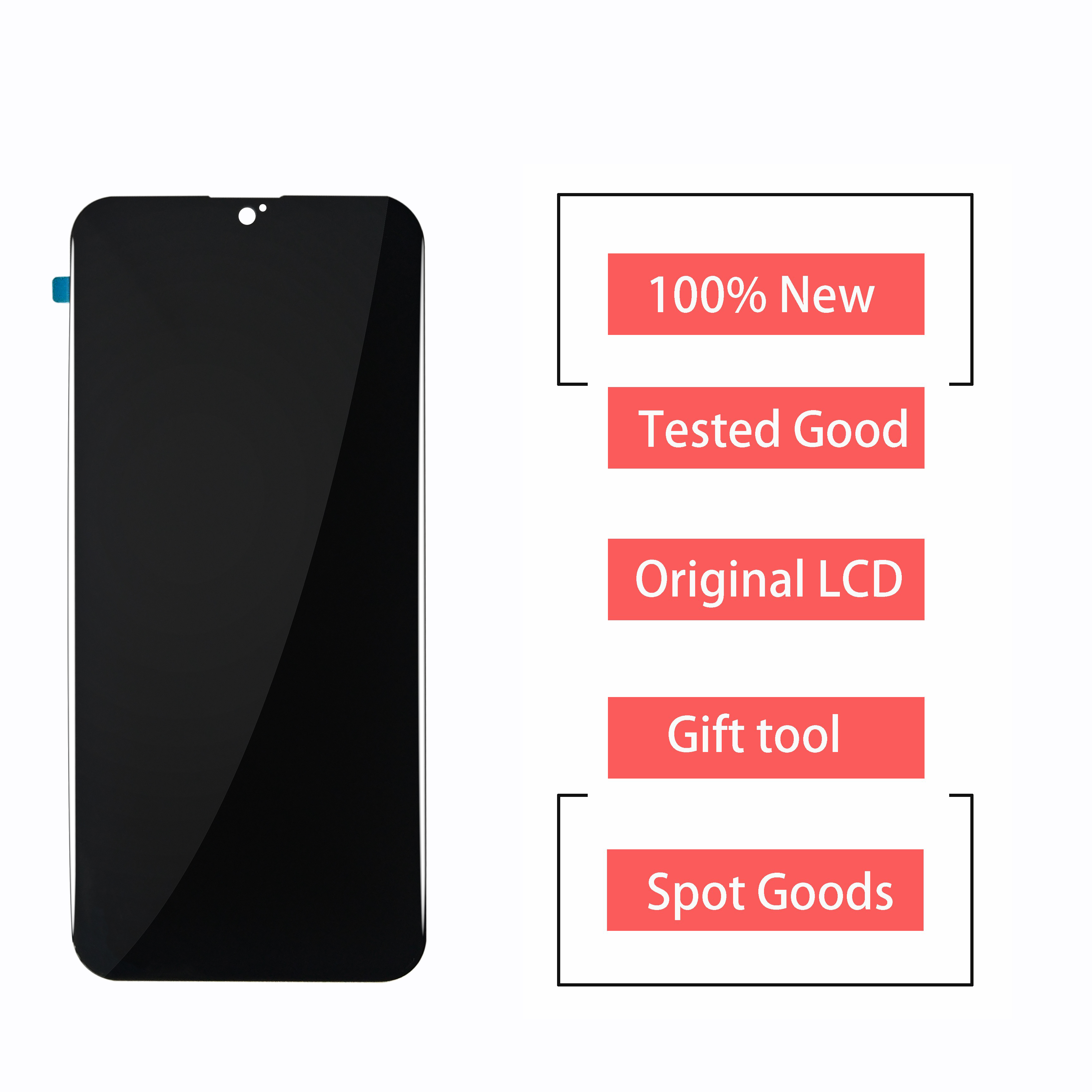 New For Alcatel 1S 2020 OT-5028 5028Y 5028A 5028D LCD Display Touch Screen Digitizer Assembly 100% Perfect Repair