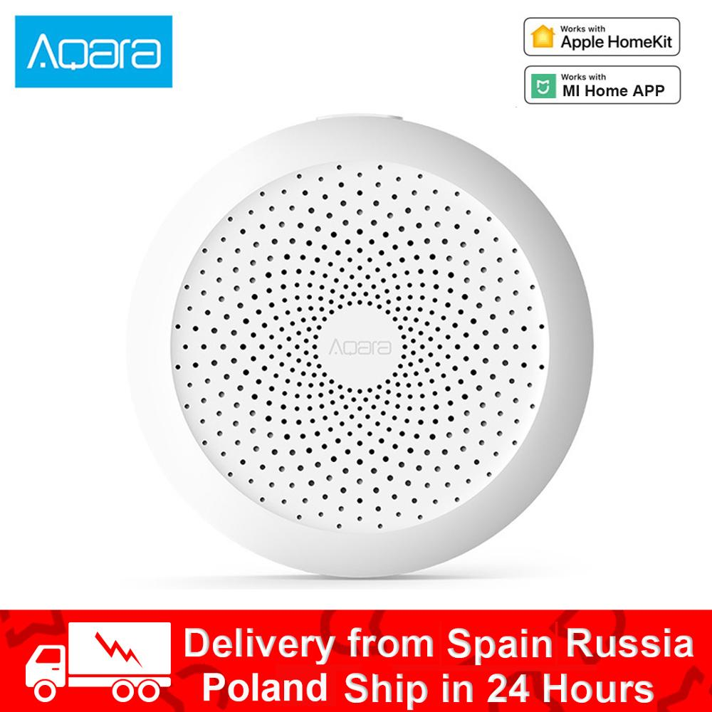 Original Aqara Hub Gateway RGB Led Night Light Smart Work With For Apple Homekit Aqara App For Mihome App