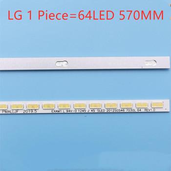 Darmowa wysyłka nowy!! Dla Toshiba 46EL300C artykuł lampa 46-po lewej stronie LJ64-03495A LTA460HN05 artykuł lampa 1 sztuka = 64LED 570MM tanie i dobre opinie abay CN (pochodzenie) LJ64-03495A LTA460HN05 46EL300C 46HL150C LED strip SLED 2012SGS46 piece 0 12kg (0 26lb ) 15cm x 10cm x 5cm (5 91in x 3 94in x 1 97in)