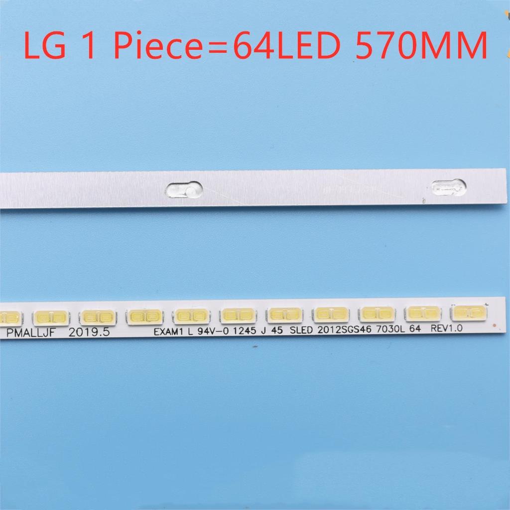 LJ64-03495A LTA460HN05 46EL300C 46HL150C LED Strip SLED 2012SGS46 7030L 64 REV1.0 1 Piece=64LED 570MM  Original 100%