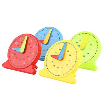 12/24 Hours Montessori Student Learning Clock Time Teacher for Kids Children Early Learning toys Gift For Babies re imagining teacher professional learning for social change