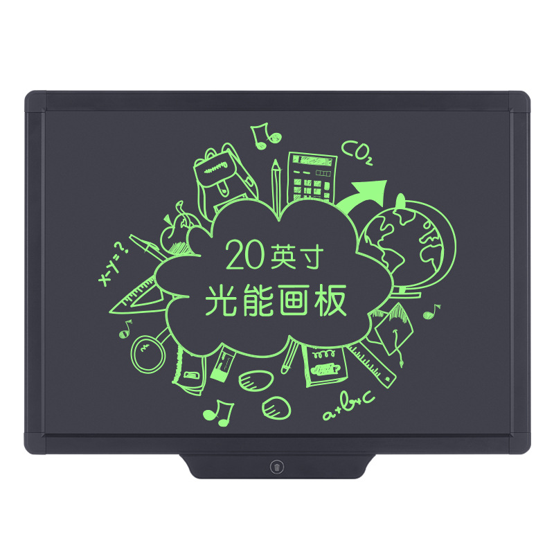 New Products 20-Inch LCD Tablet Light Handwriting Board Small Blackboard Children Painted Doodle Board Chargable